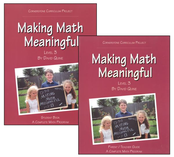 Making Math Meaningful Level 3
