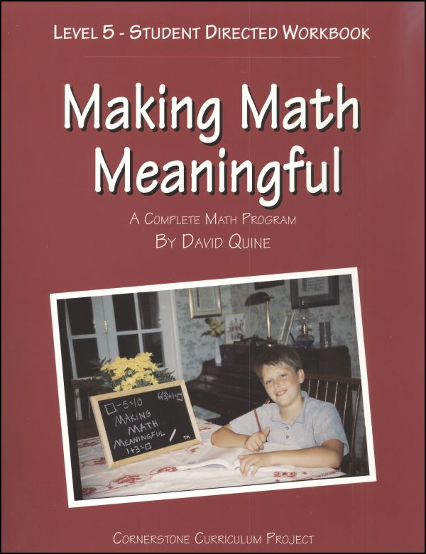Making Math Meaningful 5 Workbook