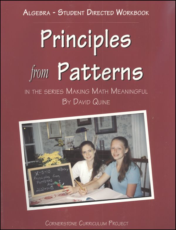 Principles From Patterns - Algebra