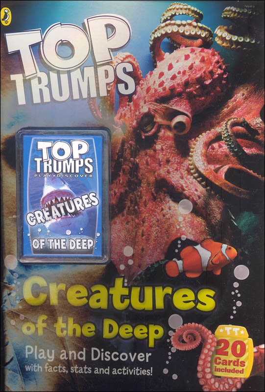 Creatures of the Deep Top Trumps Activity Book