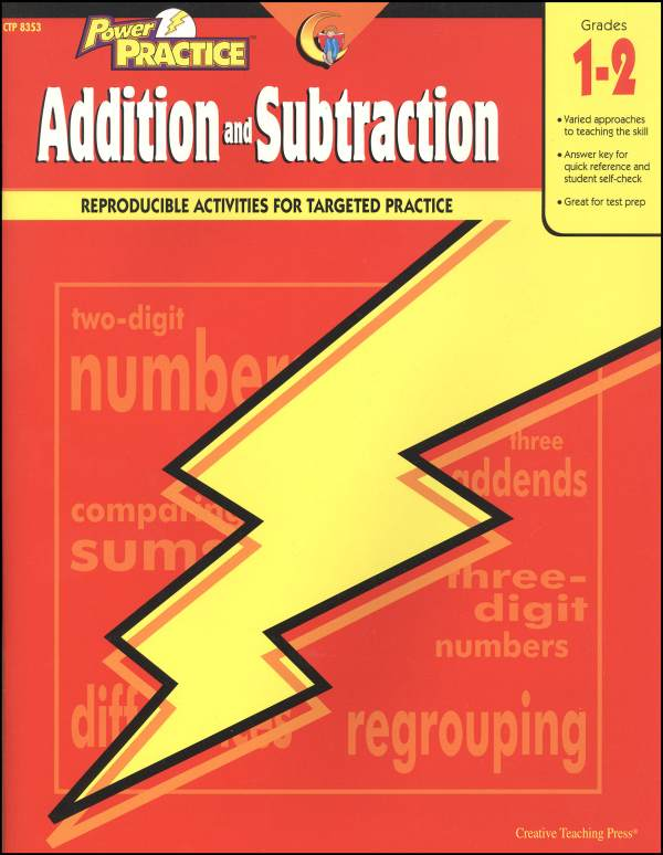 Addition and Subtraction Power Practice