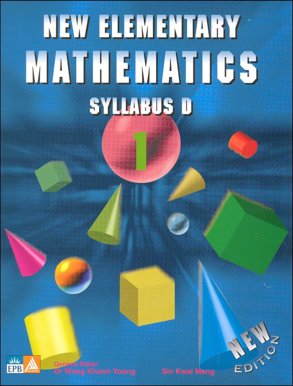 New Elementary Math 1 Textbook