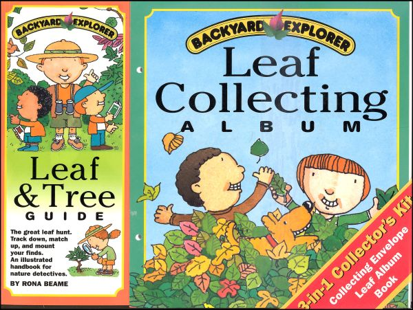 Backyard Explorer Kit/Leaf Collecting Album
