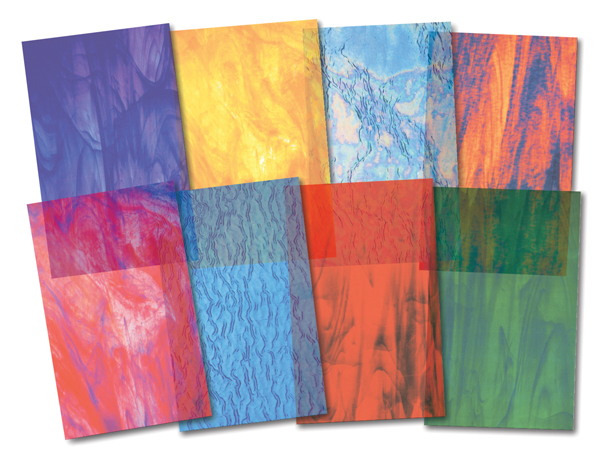 Stained Glass Paper (24 sheets)