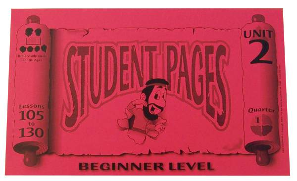 Beginner Student Pages for Lessons 105-130