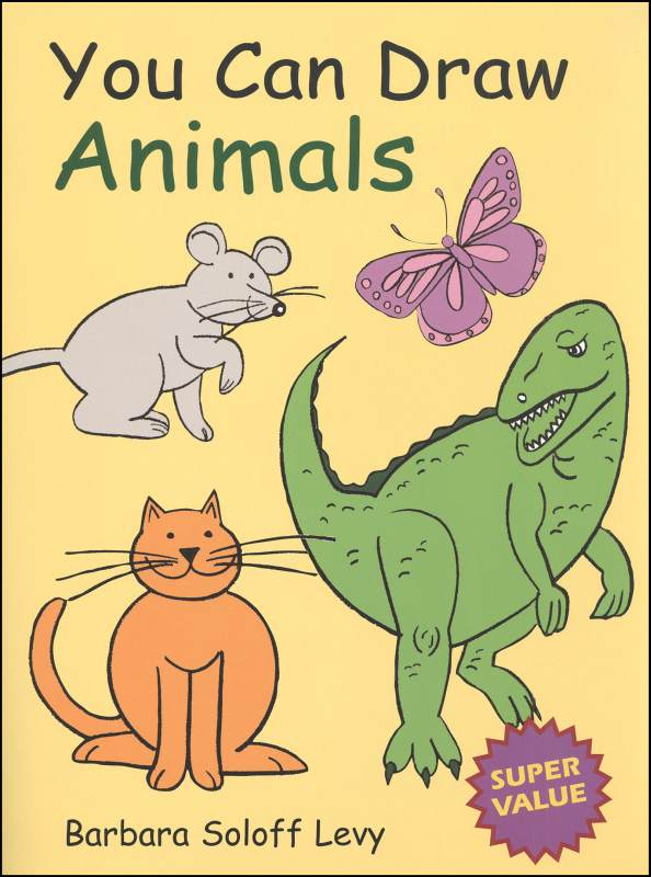 You Can Draw Animals Jumbo Book (4 in 1)