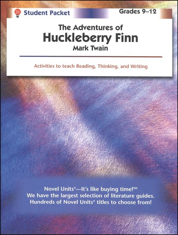 Adventures of Huckleberry Finn Student Pack