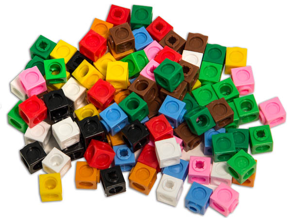 MultiLink Cubes - Set of 100