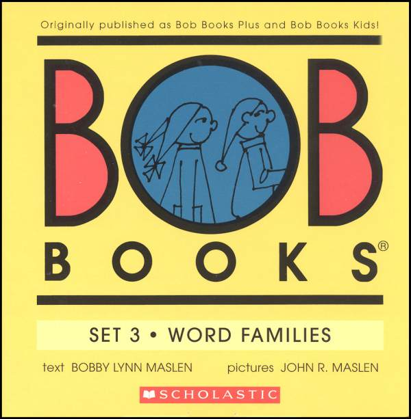 Bob Books Set 3: Word Families (Color)