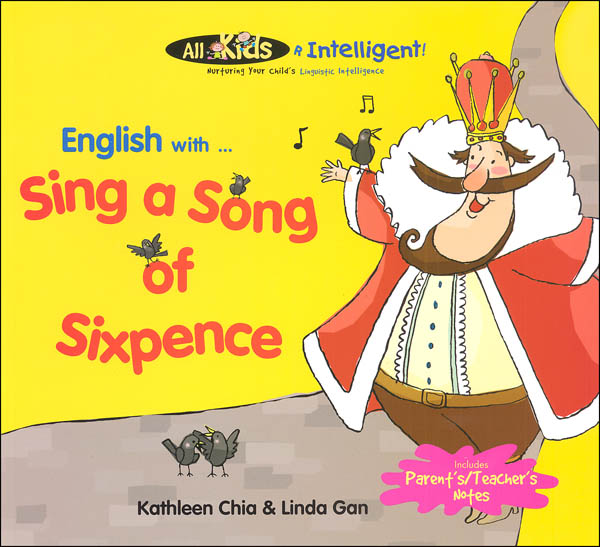 English with ... Sing a Song of Sixpence (All Kids R Intelligent! )