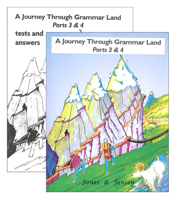 Journey Through Grammar Land Parts 3 & 4 with Test