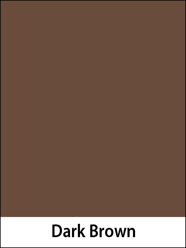 "Construction Paper 76# Dark Brown 9""x12"""