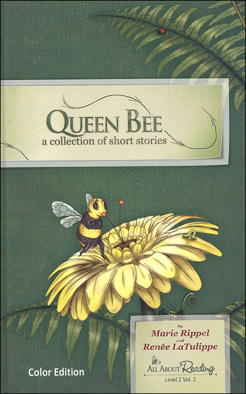 Queen Bee: Collection of Short Stories Level 2 Volume 2 Color Edition