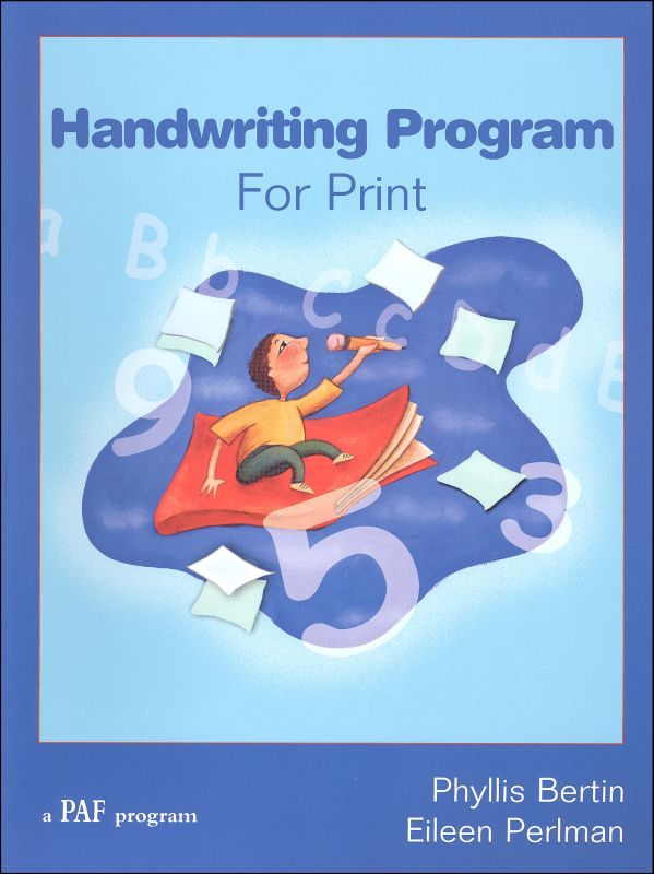 Handwriting Program for Print
