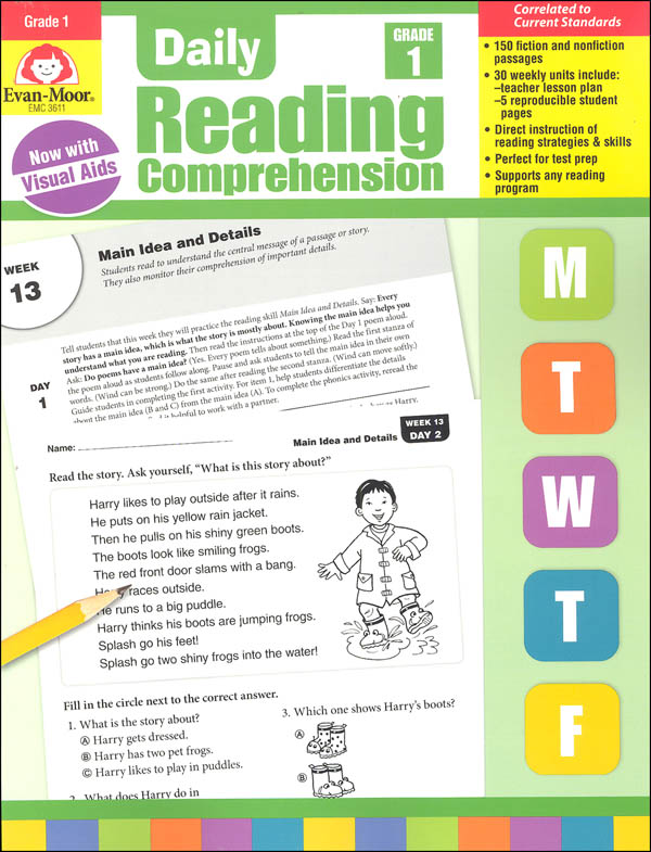 Daily Reading Comprehension Grade 1