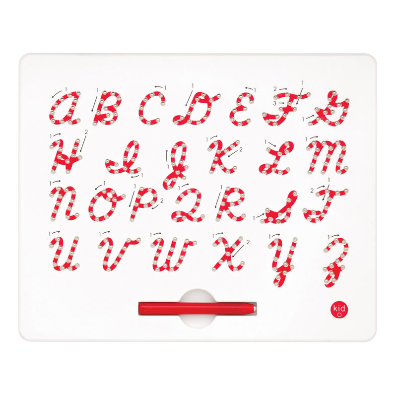 Uppercase Cursive Magnatab Tablet & Magnetic Pen