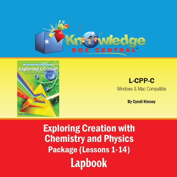 Apologia Exploring Creation with Chemistry and Physics Lapbook Journal CD