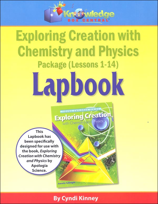 Apologia Exploring Creation with Chemistry and Physics Lapbook Printed Journal