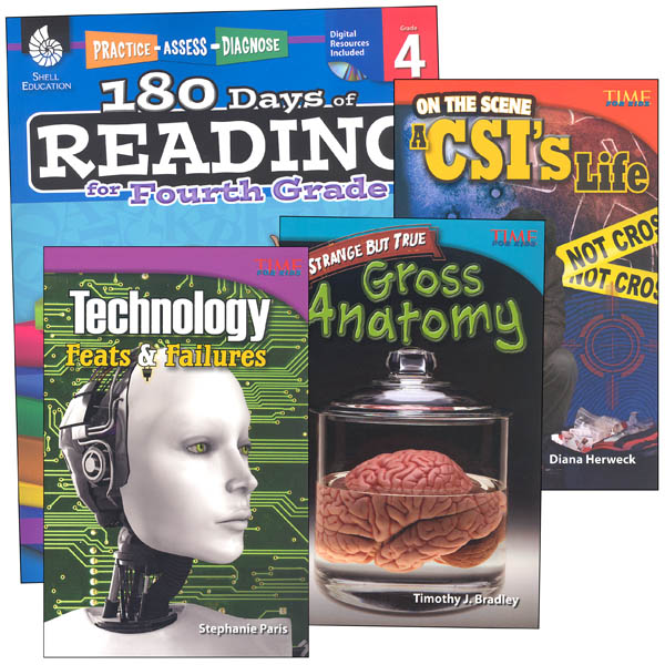 Learn-at-Home Reading Bundle Grade 4