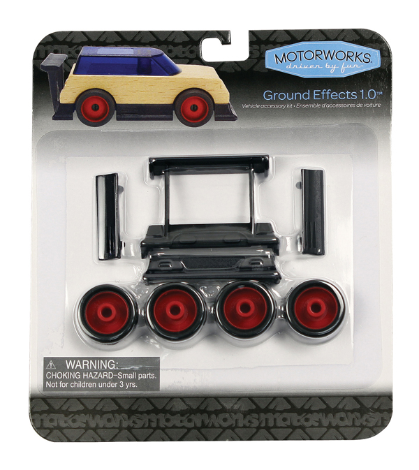 Ground Effects 1.0 Vehicle Accessory Kit (8 Pieces)