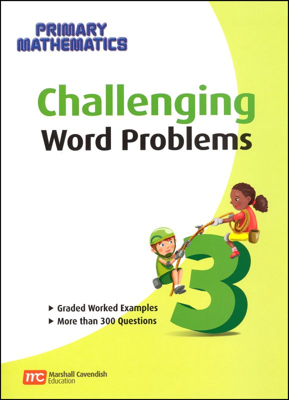 Primary Math US 3 Challenging Word Problems