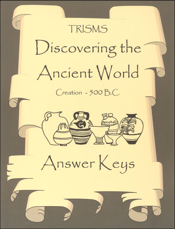 Discovering the Ancient World Answer Keys