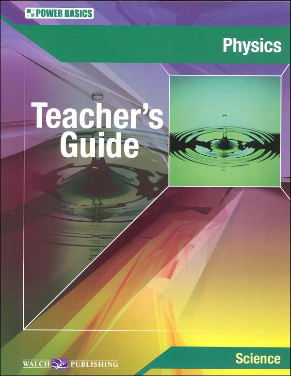 Physics Teacher's Guide (Power Basics)