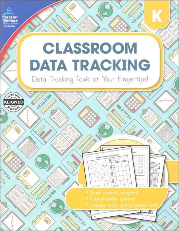 Classroom Data Tracking - Kindergarten