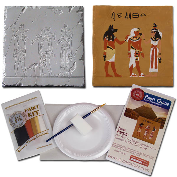 Ancient Egypt - King Tut Tomb Tile (Hands on History Pottery Kits)