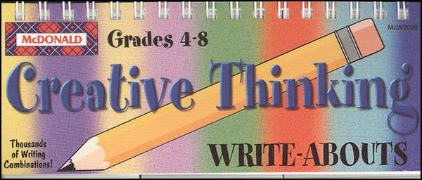 Creative Thinking, Grades 4-8 (Write-Abouts)