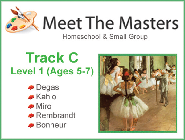 Meet the Masters @ Home Track C ages 5-7