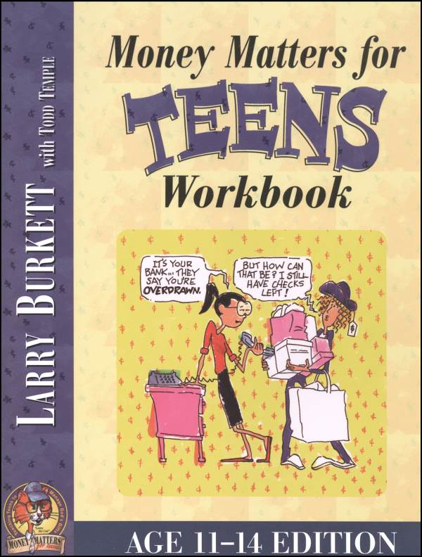 Money Matters for Teens Workbook Ages 11-14