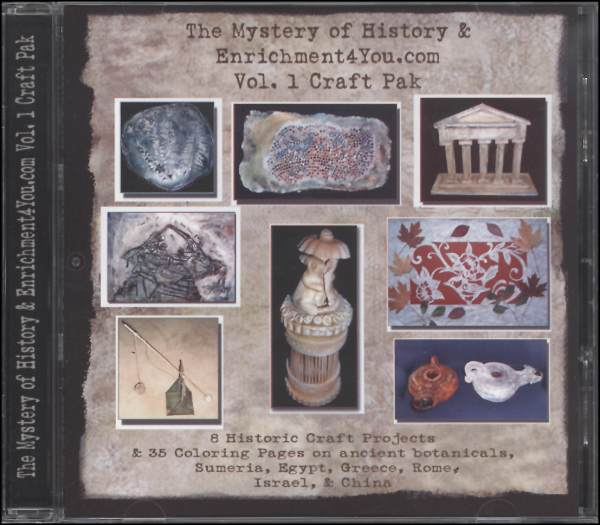 Mystery of History & Enrichment4You.com Vol. 1 Craft Pak