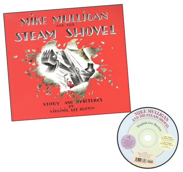 Mike Mulligan and His Steam Shovel Bk & CD