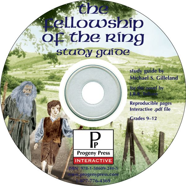Fellowship of the Ring Study Guide on CD