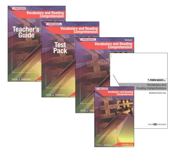 Vocabulary & Reading Comprehension PB Single