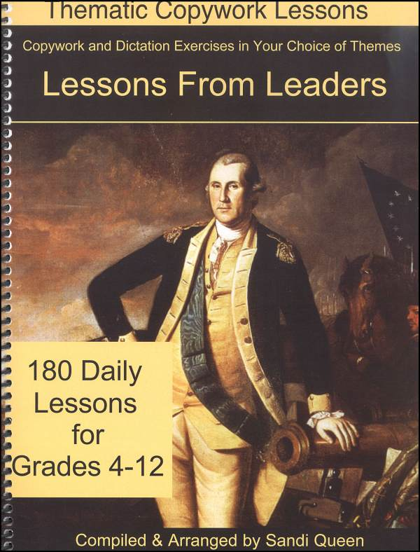 Copywork Lessons From Leaders