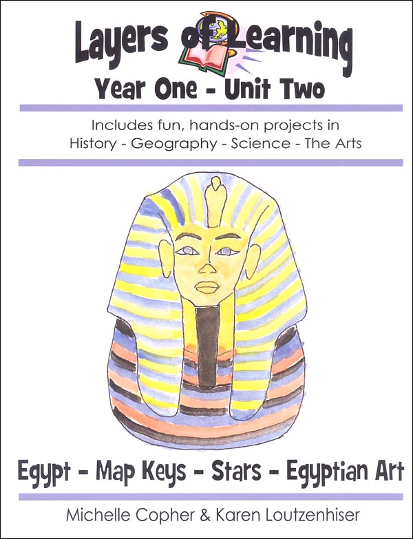 Layers of Learning Unit 1-2: Egypt-Map Keys-Stars-Egyptian Art