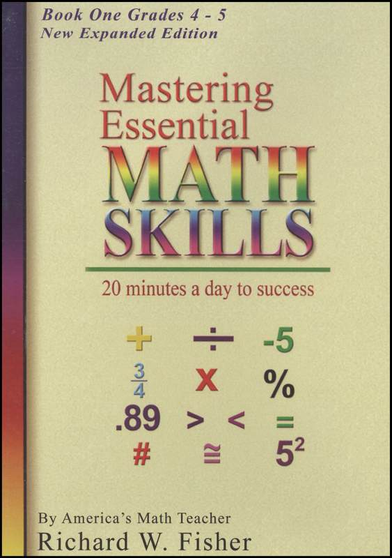 Mastering Essential Math Skills Book One on DVD