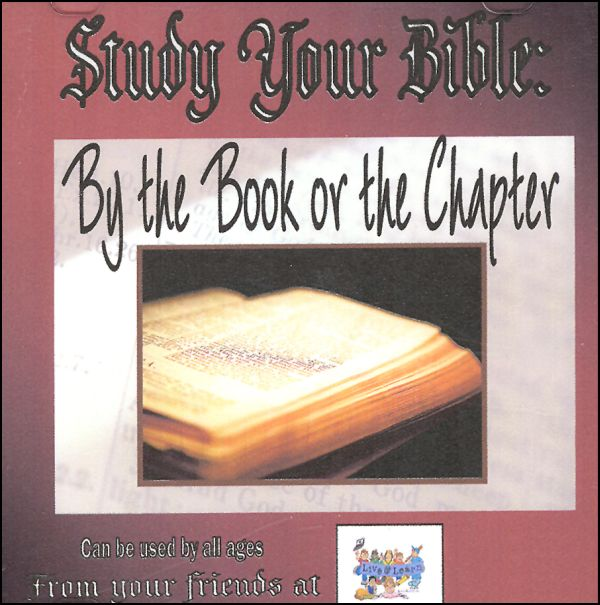 Study Your Bible: By the Book or the Chapter CD-ROM Learn 'N Folder