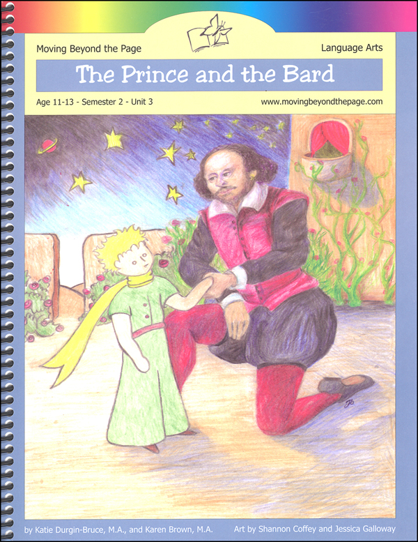 Prince and the Bard Student Directed Literature Unit
