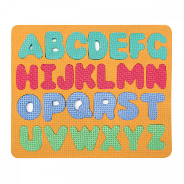 Wonderfoam Magnetic Capital Letter Puzzle Set