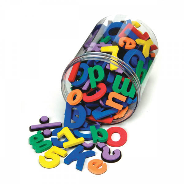 Wonderfoam Magnetic Letters, Numbers and Symbols