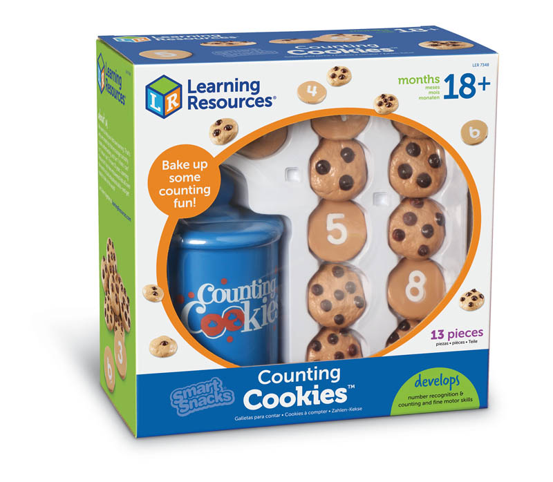 Smart Snacks Counting Cookies with Cookie Jar