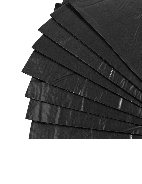 "Tac-On Wall Kit - Black (9"" x 12"") 8 Sheets"