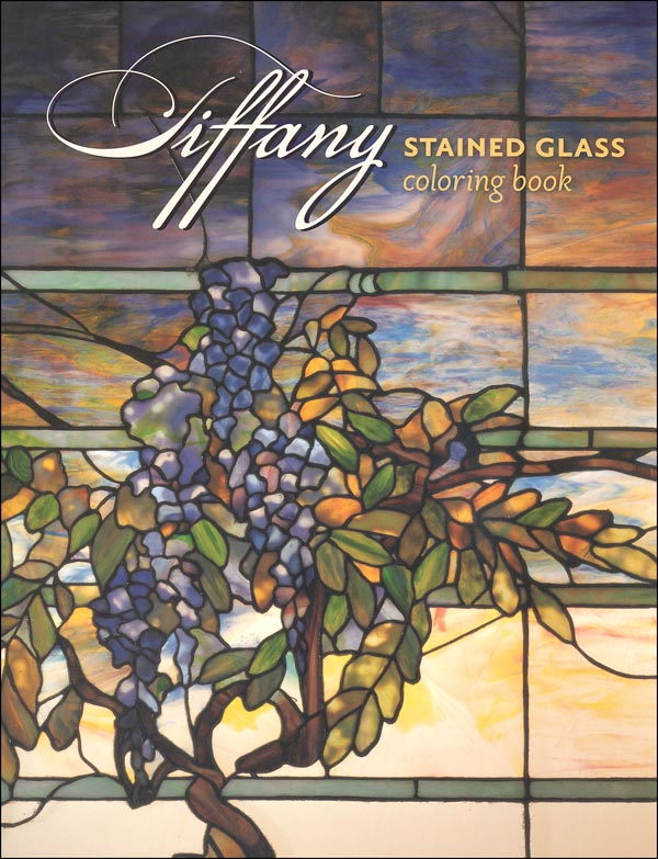 Tiffany: Stained Glass Translucent Coloring Book