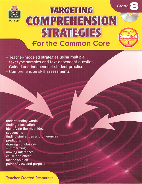 Targeting Comprehension Strategies for the Common Core Grade 8