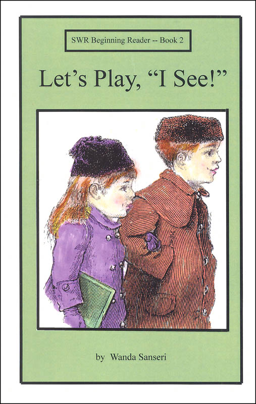 "Let's Play, ""I See!"" Book 2 (Spell to Write & Read Beginning Reader)"