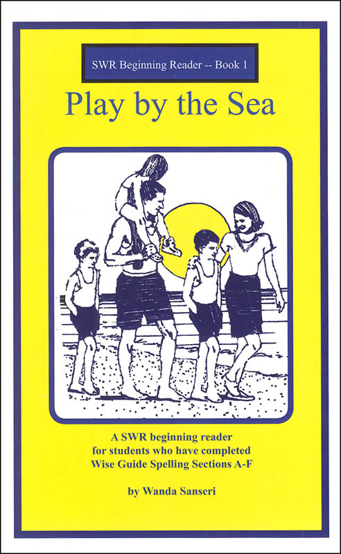 Play by the Sea Book 1 (Spell to Write & Read Beginning Reader)