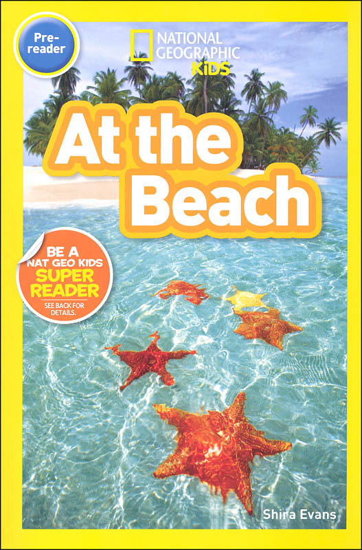 At the Beach (National Geographic Pre-Reader)
